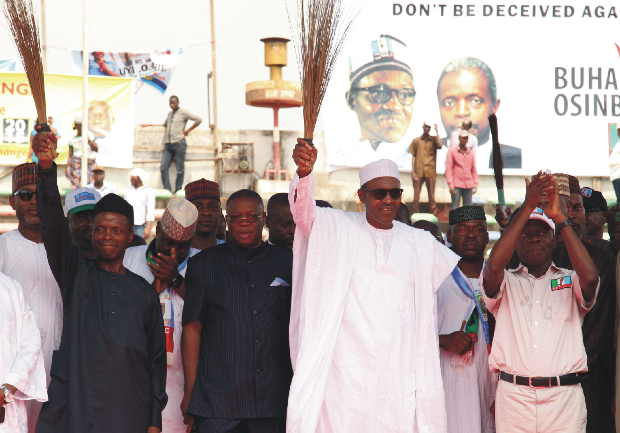 Insecurity, unemployment, corruption ' ll top our agenda- Buhari