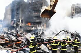 Traders lose N30bn goods to Balogun Market fire