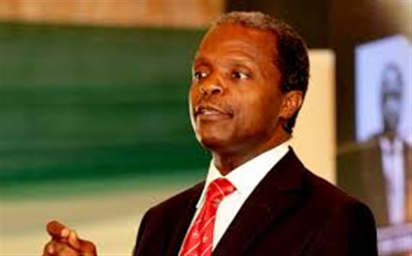 We will engage, we will not confront – Osinbajo tells NASS
