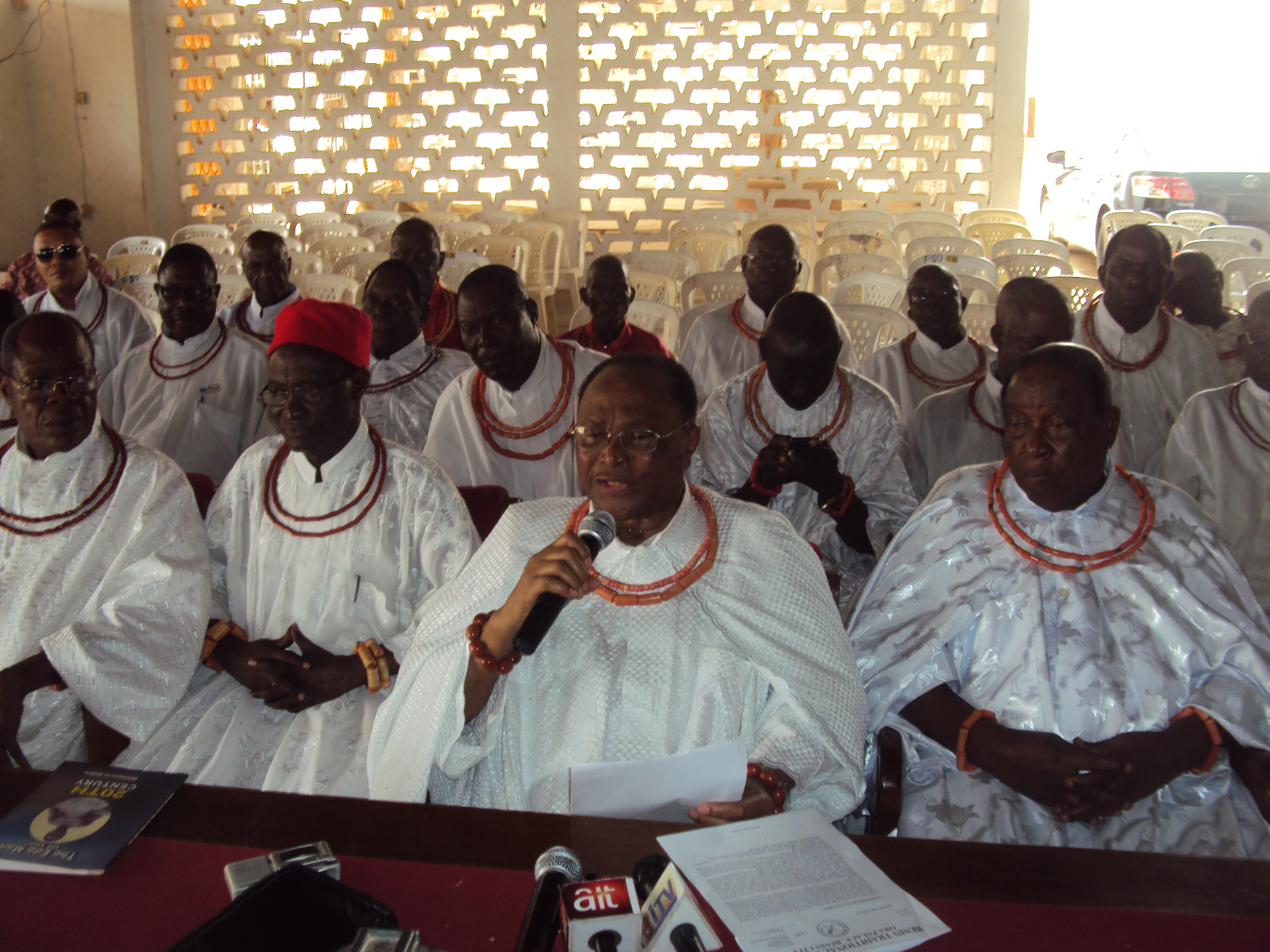 2015 Polls : No Chief Mandated To Speak For The Oba - Iyase Of Benin, Others
