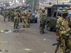 Army Sacks Edo Mobile Court ...25 suspects escape