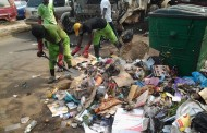 Commissioner of Environment leads other to sweep City Centre and Major streets
