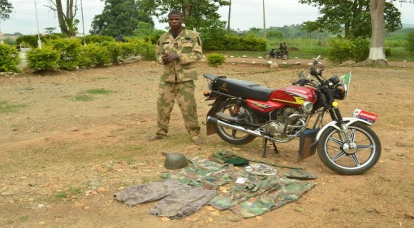 Nigerian Army arrests fake officer in Ondo