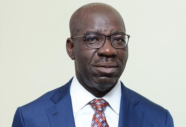 Obaseki commiserates with Sunmonu on wife's passing