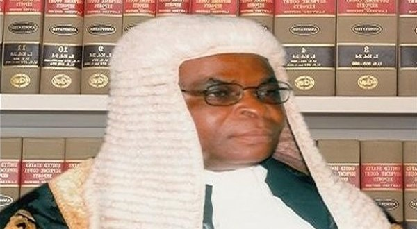 Justice Onnoghen confirmed ...to be sworn-in by Osibanjo