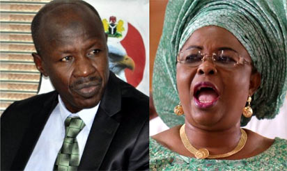 Patience Jonathan: court strikes out suit against SERAP