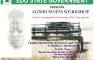 Agribusiness Workshop Opens In Benin City