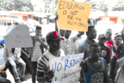 AAU students protest again over alleged fees increment