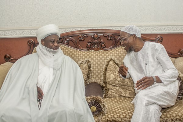 Sultan Commends Aregbesola's Fairness To All Religious Organizations In Osun ...leads prayers for Nigeria, President Buhari