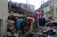 3 Storey Building Collapses In Lagos ...LASG calls for whistle blowers on defect buildings