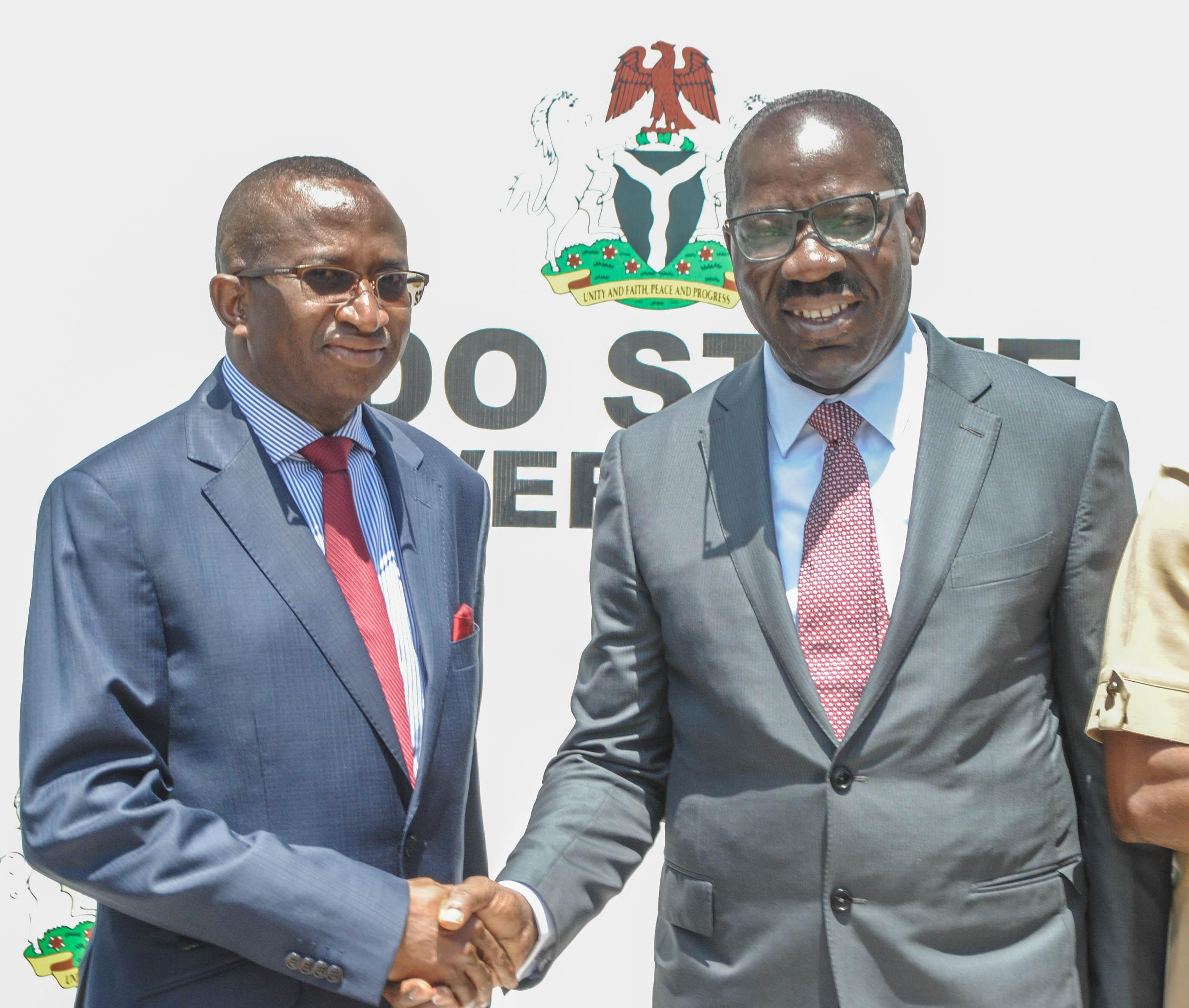 Obaseki urges NDDC on resource management, to repair major road