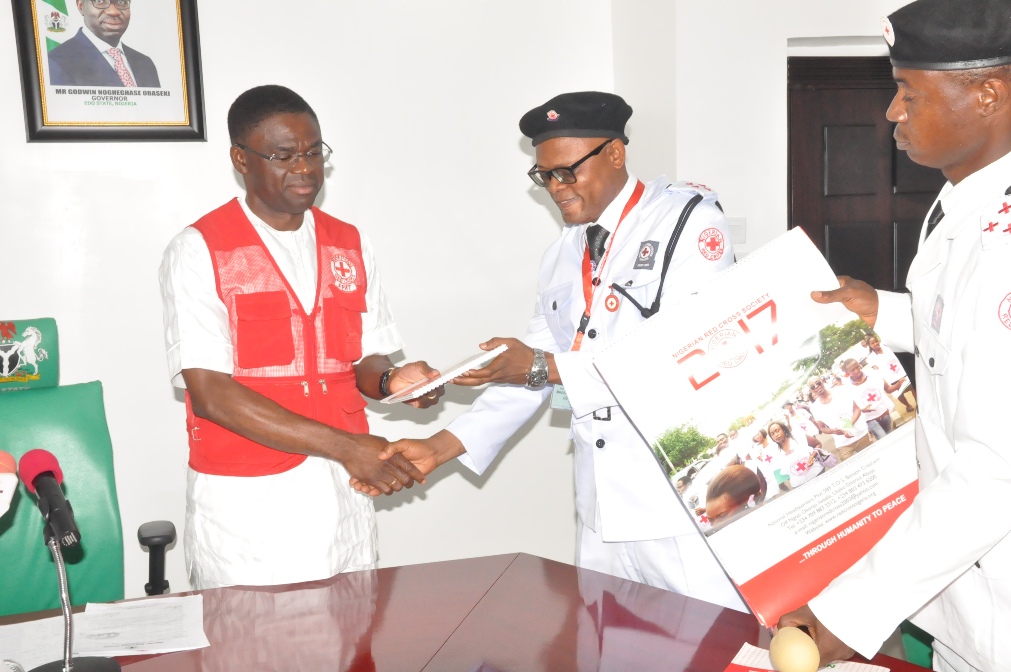 Emergency Response: Edo Govt to collaborate with Red Cross