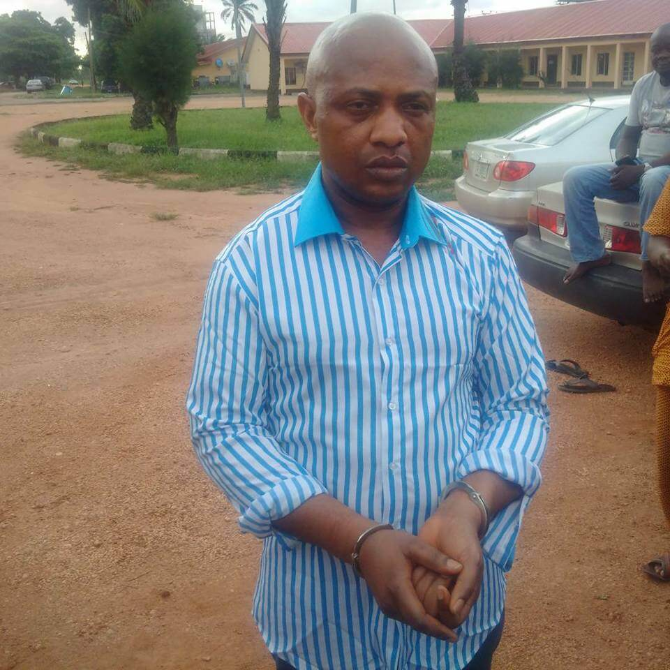 Evans has not vanished, still in our custody