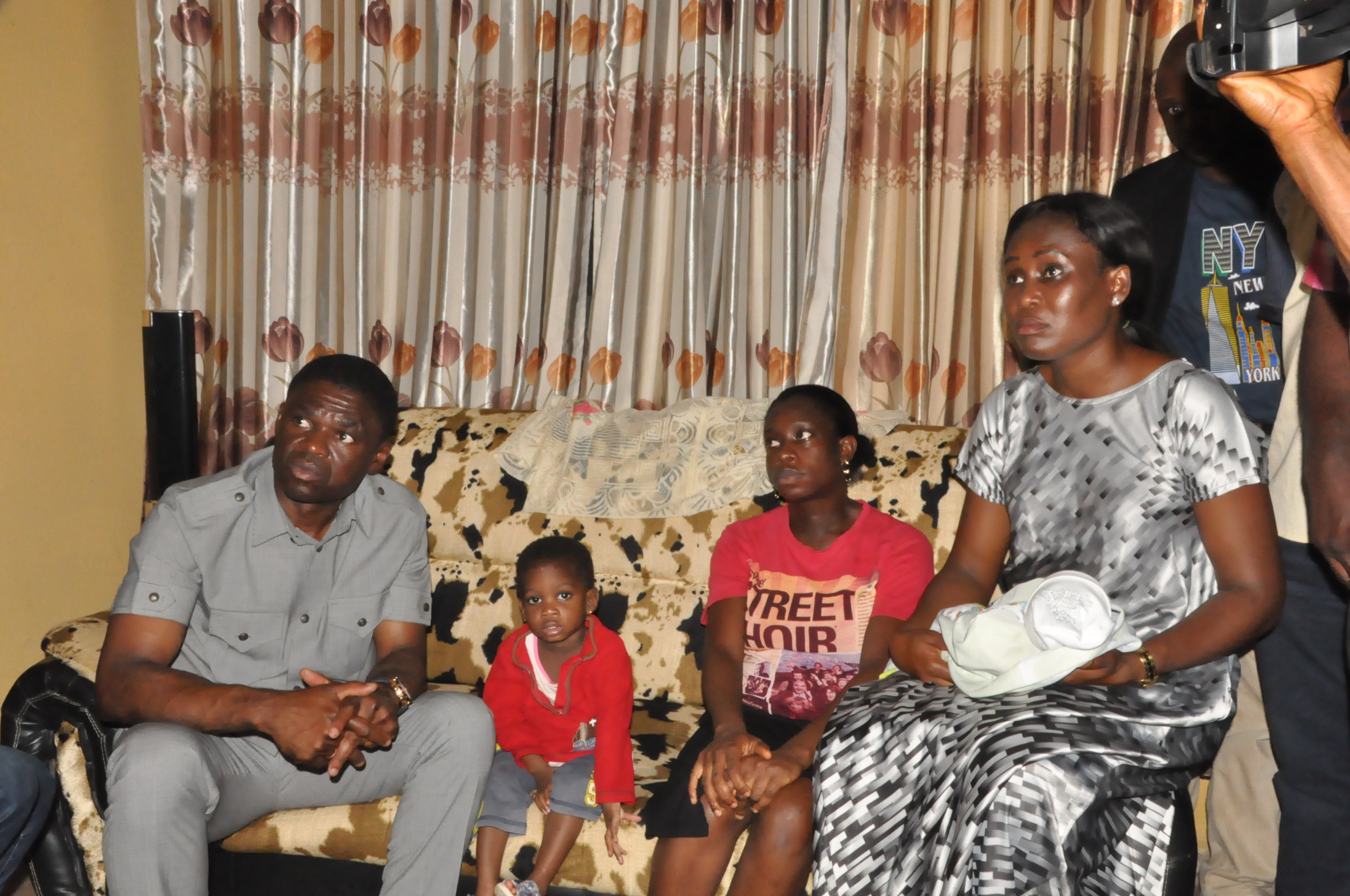 Edo Deputy Gov visits late Lawrence family, says killer will not go unpunished