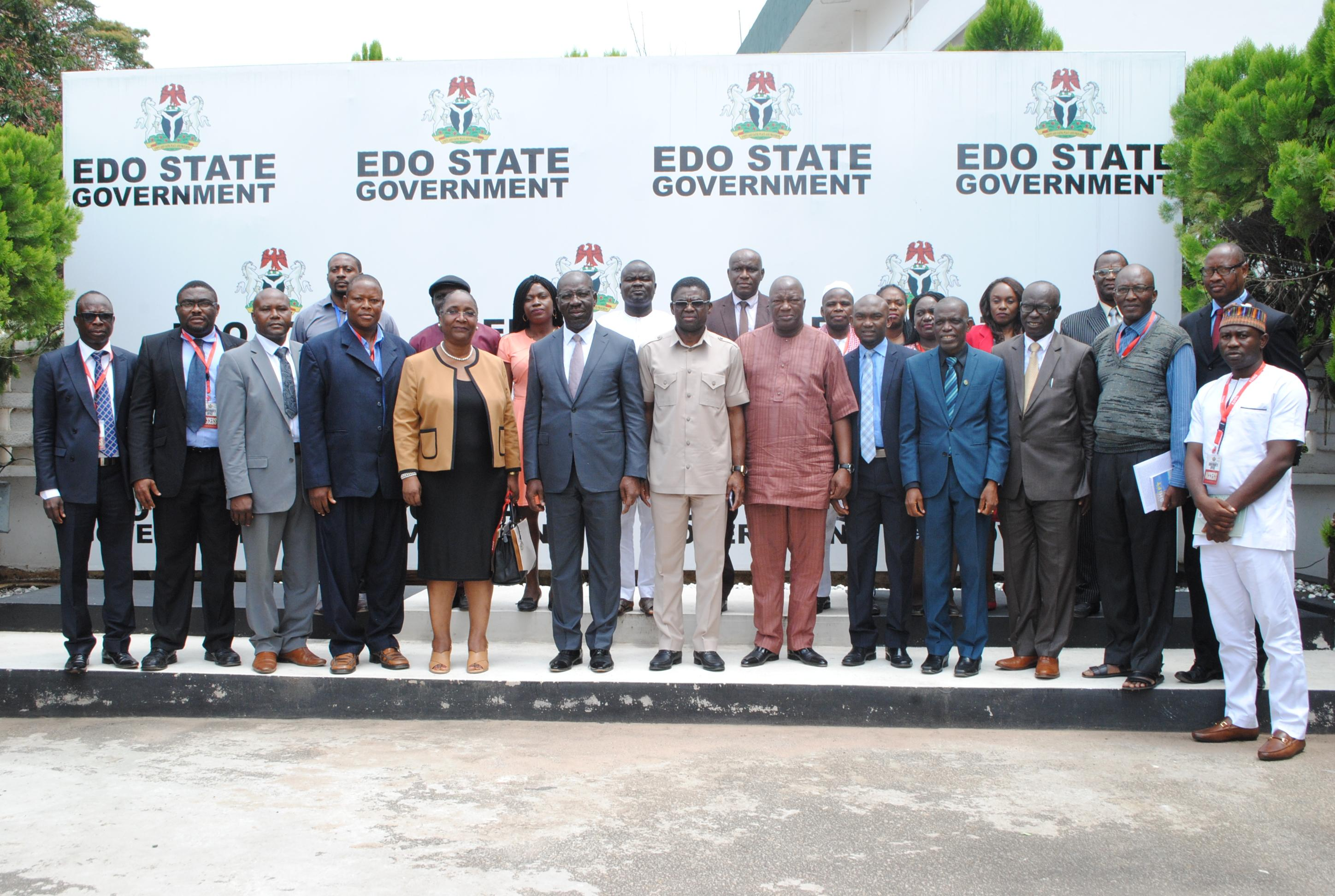 Edo State Commissioners Assume Office