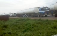 Motorists Stranded Along Benin-Warri Highway as Tankers Block The Road