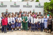 Obaseki presents cash gifts to students for academic excellence