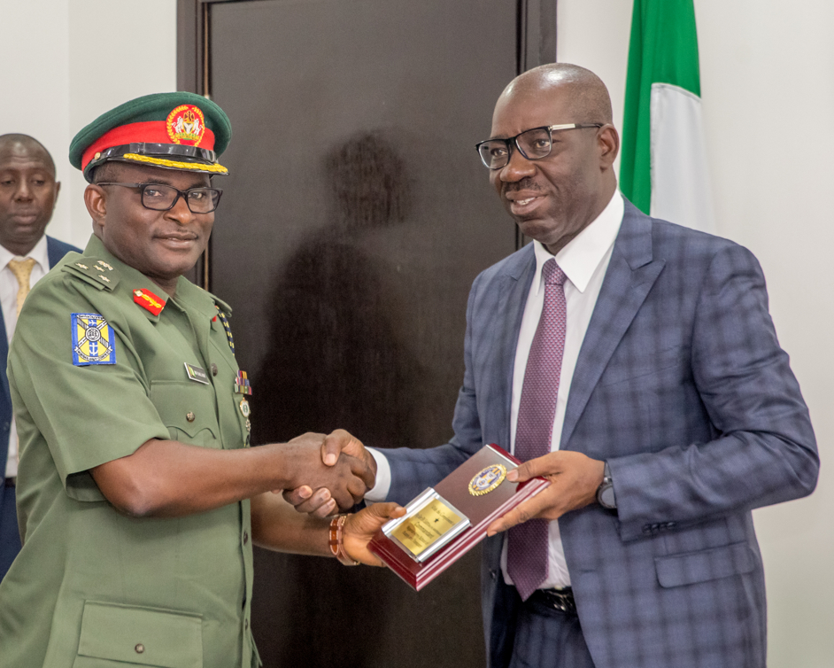Army Transport School lauds Obaseki, to train Edo firemen, drivers