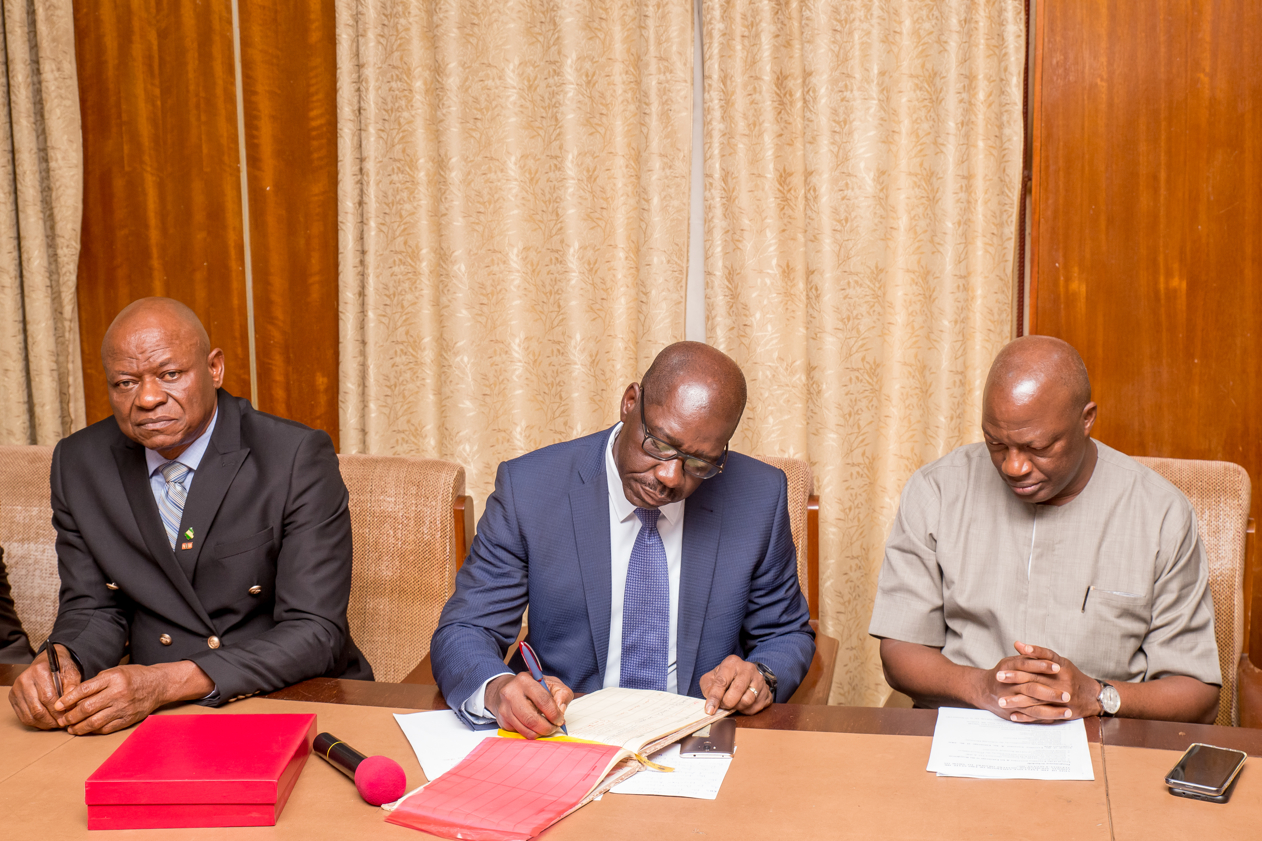 Obaseki unveils tripartite plan to harness potential of Oil Palm