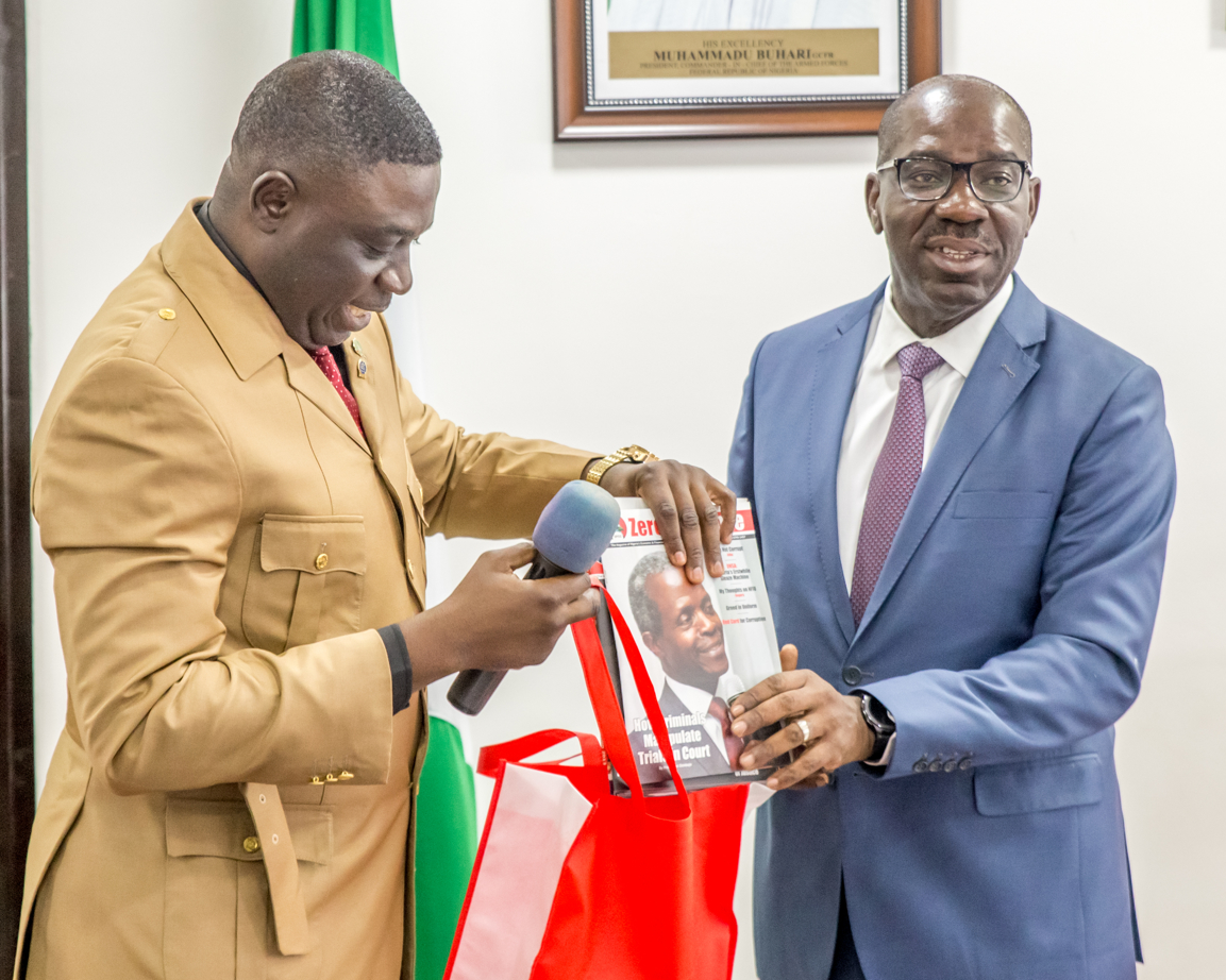 Corruption: Obaseki Seeks Partnership with EFCC on Capacity Building for Civil Servants