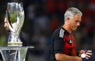 Mourinho Hails 'Superior' Real Madrid After Manchester United Super Cup Loss
