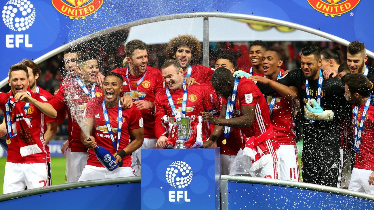 Carabao Cup: Man Utd play Burton, Arsenal welcome Doncaster [See full draws]