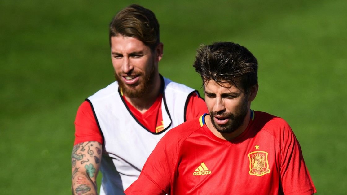 Ramos tells Madrid crowd: 'Don't boo Pique'