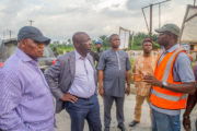 Obaseki Inspects Ongoing Road Projects in Edo Central Senatorial District ...Laments Deplorable State of Benin-Ehor-Ekpoma-Auchi Road