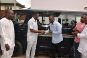 Edo Deputy Gov Donates Vehicle To NANS