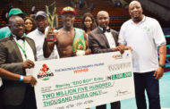 GOtv Boxing Night 12: Eribo Retains African Boxing Union Title--Wins Best Boxer Of The Night
