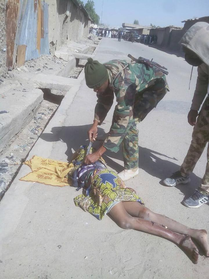 Troops Foil Attempt By 3 Female Suicide Bombers In Gamboru