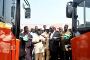 Oshiomhole salutes Obaseki's accomplishments, commissions 75 new intra-city buses