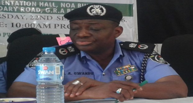 Police read riot act to criminals in Edo  ...promote officers