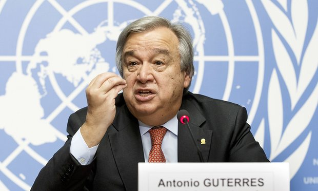 Guterres counters Trump on 2-state Israel-Palestine solution