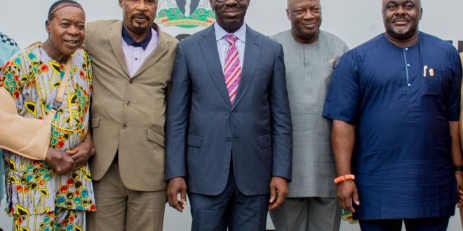 Obaseki hosts PMAN, pledges support for reforms in creative industry